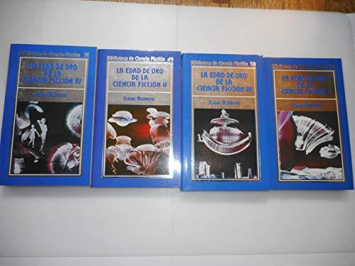 LA EDAD DE ORO DE LA CIENCIA FICCIÓN. 4 vols. Textos de Edmond Hamilton,...