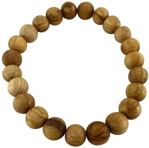 Pachamama Essentials Palo Santo Bracelet Handmade in Peru Spiritually Cleansing Negative Energy Protection
