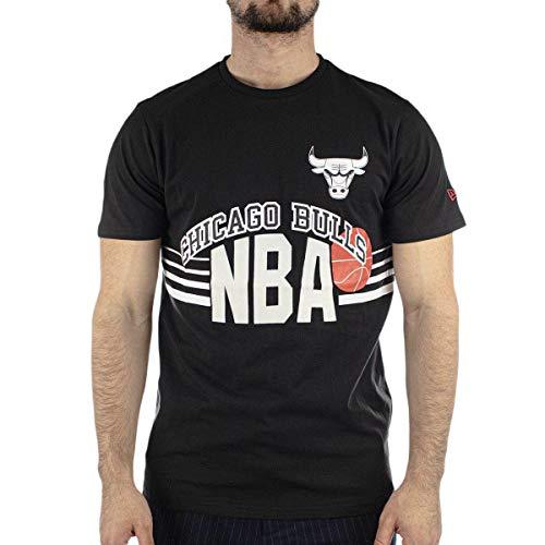 New Era Chicago Bulls Modelo NBA Throw Back tee CHIBUL Marca