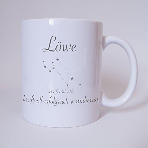 Sternzeichen Löwe - Tasse - Kaffeetasse - Tasse mit Spruch