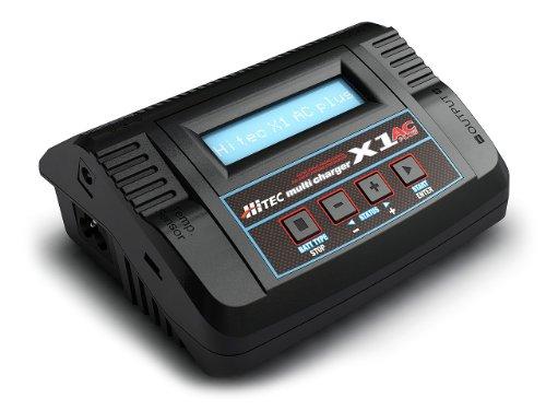 Hitec 44165 X1 AC Plus Single Port 6 Amp AC/DC Charger (NiCd/NiMH/LiPo)