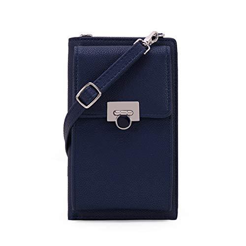 ミニバッグ パスケース チェーンウォレット ショルダーバッグ レディース 財布 携帯ケース ポシェット ブラック Free