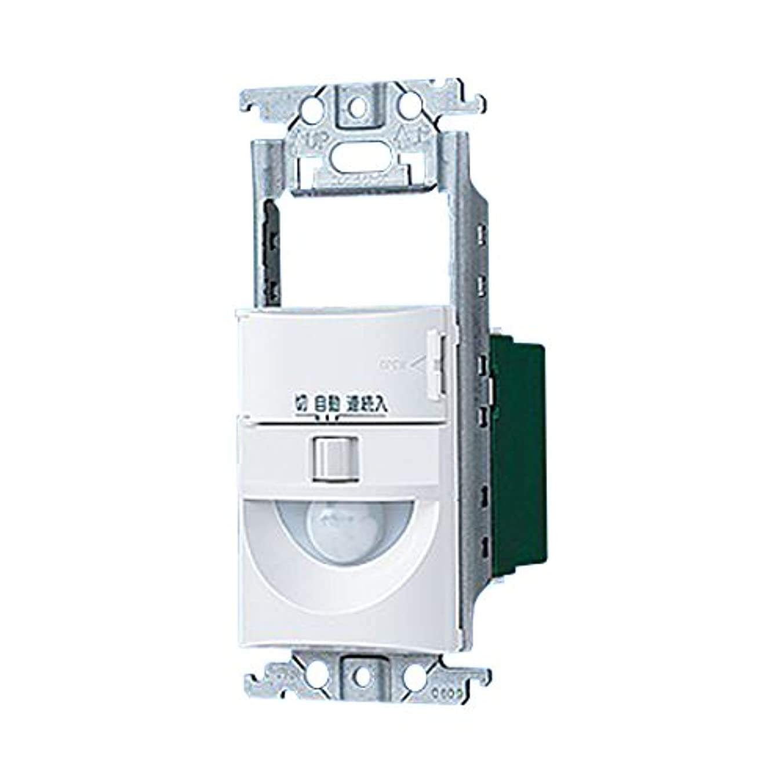 人生を作る眩惑する肝パナソニック(Panasonic) トイレ壁取付熱線センサ付自動スイッチ 2線式 スイッチスペース付 ホワイト WTK12115W