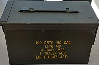 U.S. Military Surplus M2A1 .50 Cal Ammo Can
