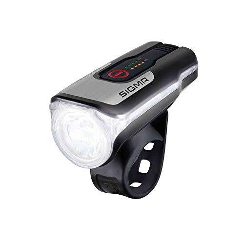 Sigma Aura fietsverlichting USB AV op kleerhangers 80 Lux, zwart