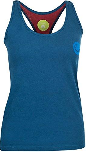 EDELRID Signature - Débardeur Femme - Bleu Modèle 40 2018 Tank Tshirt