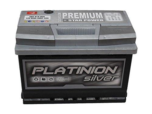 Batería de coche 65ah PLATINION PREMIUM