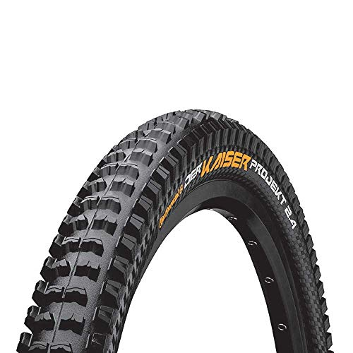 Continental Unisex - Cubiertas de Bicicleta para Adultos, Modelo Kaiser Projekt Apex, Color Negro, 29 x 2.40