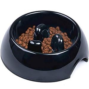 Super Design Comedero Lento en Melamina, Comedero Antivoracidad Antideslizante para Perros y Gatos, Ralentizar la Comida 3