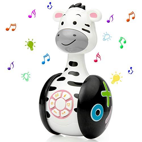 WolinTek Jouets pour Bébé 6 Mois Plus,Jeux Bébé Jouets Musical ,Jouet d'Éveil Bébé,Jouets...