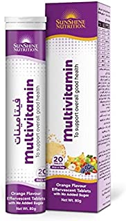 SUNSHINE NUTRITION Multivitamin Effervescent Tablets