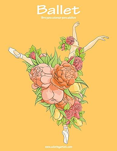 Ballet libro para colorear para adultos 1