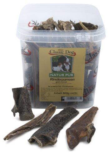 Classic Dog 43641 Rinderpansen im Eimer 800 g - Hundefutter