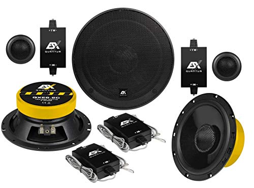 ESX QXE6.2C - 16cm 2-Wege Lautsprecher System Kompo