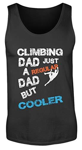 Generisch Climbing Dad Kletter Papa Klettern Kletterausrüstung Bouldern Sportklettern Kletterhalle - Herren Tanktop -XXL-Schwarz