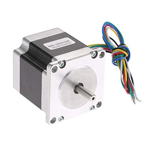 F-MINGNIAN-TOOL, 1 ST NEMA23 Stepper Motor 57x56mm 1.0A Nema23 Stap Motor 0.9N.m/126.8oz.in 6-lead voor 3D Printer/CNC Graveren freesmachine