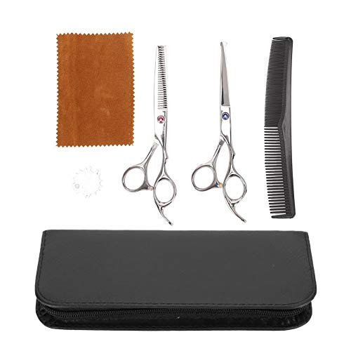 Tijeras de peluquería de 6 pulgadas Tijeras para cortar el cabello Tijeras para bebés Peluquería Peluquería Tijeras para el hogar Tijeras para adelgazar