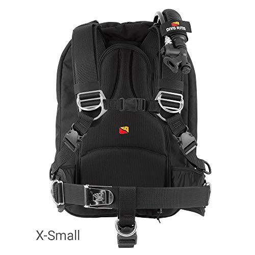 Dive Rite TravelPac BC, Black, Large