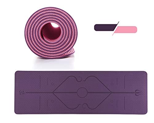 GreenBee Esterilla Yoga Antideslizante - Esterilla Deporte en Casa - Alfombra Yoga...