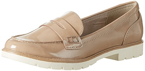Tamaris Damen 24209 Slipper, Beige (Nude 251), 40 EU