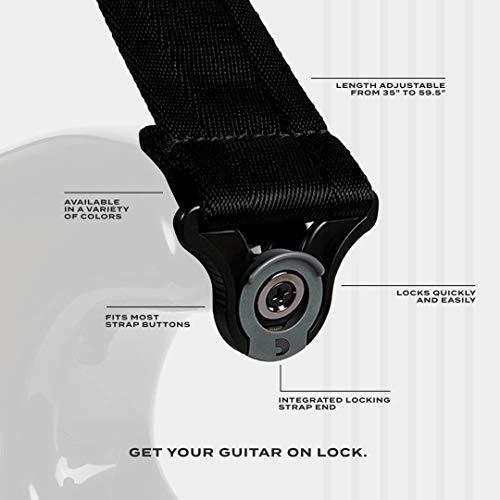 D'Addario Accessories Auto Lock Guitar Strap ((50BAL01))