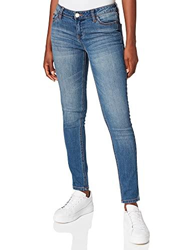 Morgan Pjasa, Jeans Femme, Bleu (JEAN STONE), 40 EU