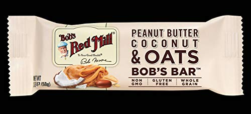 Bob's Red Mill Peanut Butter Coconut & Oats Bob's Bar, 12 Count