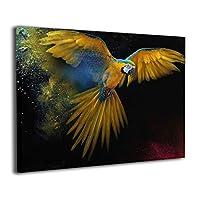Skydoor J パネル ポスターフレーム 鳥 オウム インテリア アートフレーム 額 モダン 壁掛けポスタ アート 壁アート 壁掛け絵画 装飾画 かべ飾り 30×20