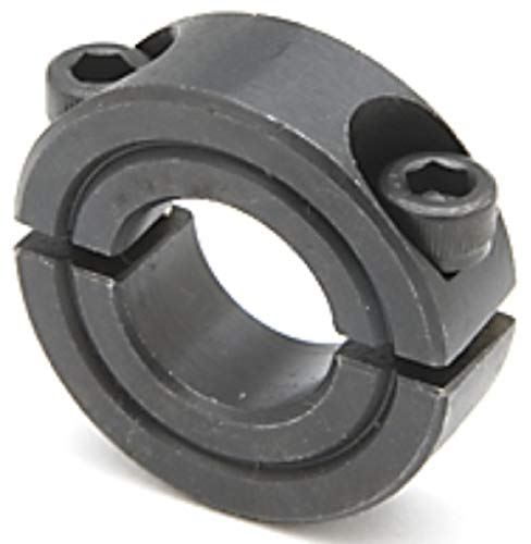 1 1/2 I.D, 2 3/8 O.D, 9/16 Wide, Two-Piece, Collars and Couplings Shaft Collars, Steel (1 Each)