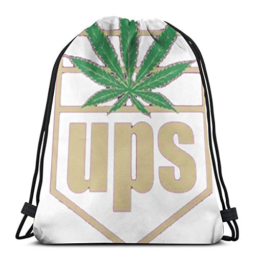 Bag hat United Pot Smokers 3D Print Drawstring Backpack Rucksack Shoulder Gym for Adult 16.9