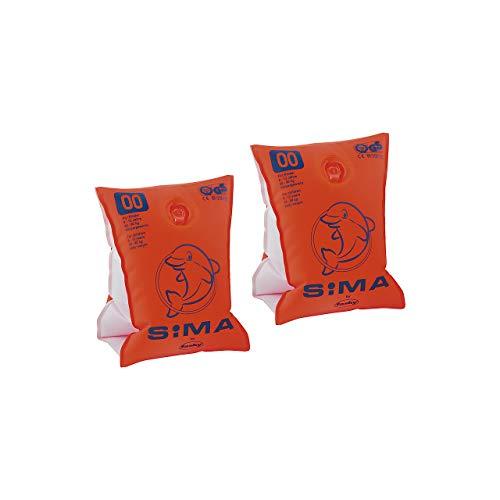 Unbekannt Kinder CIMA Schwimmhilfe Sima, orange-blau, bis 15 kg