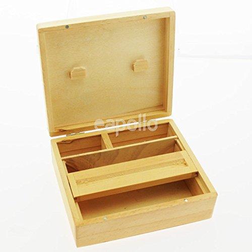 CBL Grassleaf Schachtel zum Drehen von Zigaretten / Zigarren, Holz