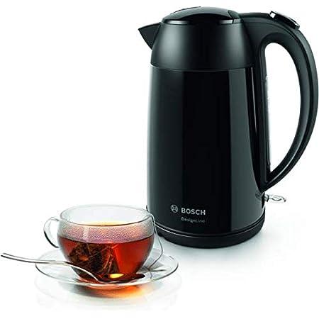 Bosch TWK76033GB Black Cordless Kettle 3000W Fastboil Quick Boil