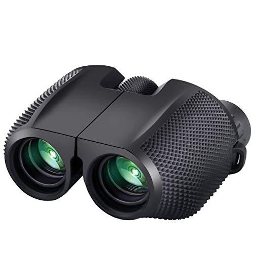 Timotech Binoculares Prismáticos 10×25 Zoom BAK4 con Enfoque Automático de Alta Resolución A Prueba de…