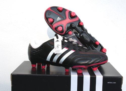 adidas Adipure 11Pro TRX FG Scarpe da Calcio da Donna, (Black - White - Pink), 6 UK