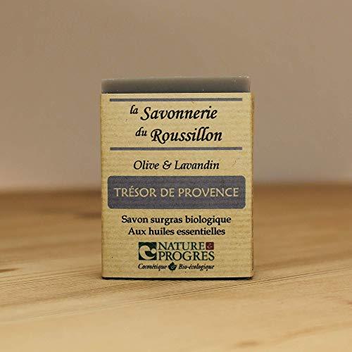 Savon Surgras Bio - Olive & Lavandin - Trésor de Provence