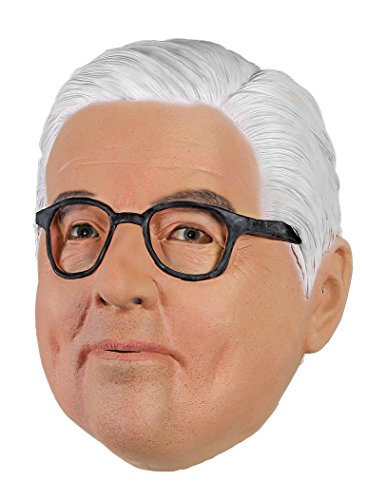 MW Politiker Maske (Frank-Walter Steinmeier)