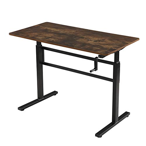 SDADI Crank Adjustable Height Standing Desk