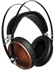 Meze 99 Classics valnöt silver audiofiler Over-Ear hörlurar, högkvalitativa material och hög valnöt silver