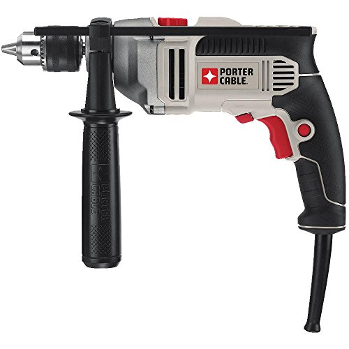 PORTER-CABLE Hammer Drill, 1/2-Inch, 7-Amp, Pistol Grip...