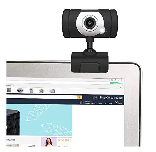 HD-Kamera Desktop-Laptop USB Webcam einstellbare Winkel Web Cam mit eingebautem Mikrofon für Videotelefonie Conferencing Recording