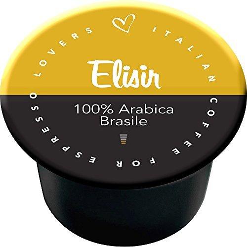 Capsulas Compatibles Lavazza Blue Elisir 100% Arábica Brasile 50 ud