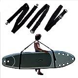 Outtybrave Tragbarer Kajakgurt, Surfbrett-Schultergurt, Verstellbarer SUP-Surfbrettgurt-Longboardgurt -