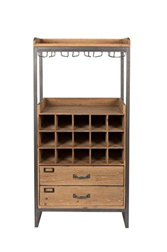 Felis Lifestyle Cabinet Edgar, Holz, Braun, 38,00 x 56,00 x 112,50 cm