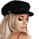 SIYWINA Gorra Boina Mujer Gorras Planas Gorra Marinero Boina Newsboy Hat 2021