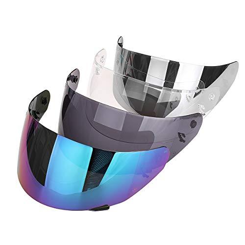 Visera de cristal para casco de motocicleta para LS2 FF352 FF369 FF351 FF384 Color Colorful