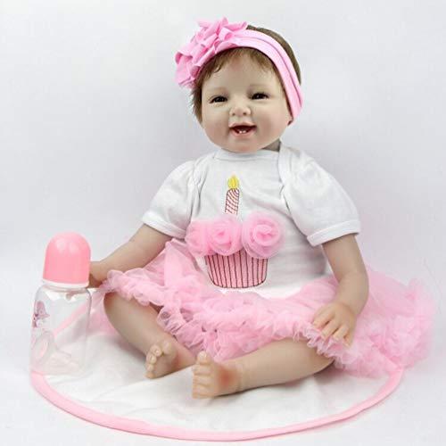 ZIYIUI Realistic 22inch 55cm Reborn Doll Lifelike Dolls for Girls Reborn...