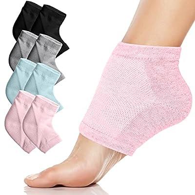 Moisturizing Heel Gel Socks