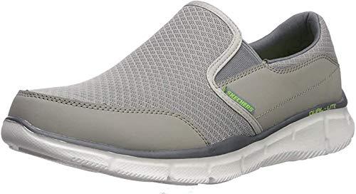 Skechers Equalizer Persistent - Zapatillas sin cordones para hombre, Gris (gris), 39.5 EU