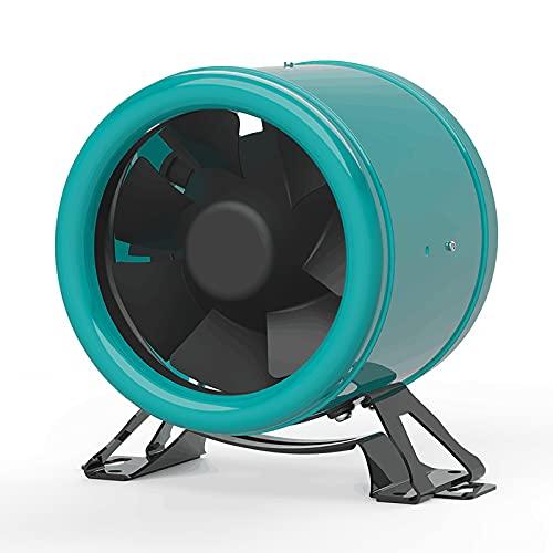 Sxiocta Ventilador De Conducto-Escape De ConversióN De Frecuencia De Cc Circular, Ventilador De Conducto Silencioso, Ventilador De Escape Desodorizante, 6 Pulgadas